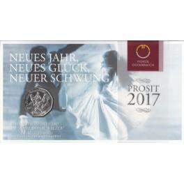 5€ PLATA AUSTRIA 2017