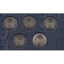 2€ Alemania 2017 (14€)(5 cecas)