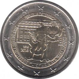 """2€ Austria 2016 """"200 Años del Banco Nacional"""""""