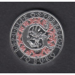 10€ PLATA AUSTRIA PROOF (Angel Guiding)
