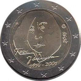 """2€ Finlandia 2014 """"100 años del nacimiento de Tove Jansson"""""""