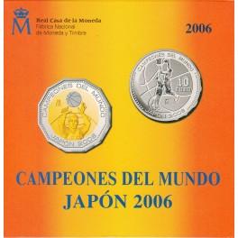 Serie campeones del mundo de basquet Japón 2006 (660€)