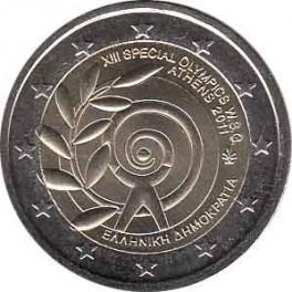 """2€ Grecia 2011 """"Juegos Olímpicos Especiales"""""""