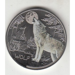 3€ AUSTRIA 2017  LOBO  (35€)