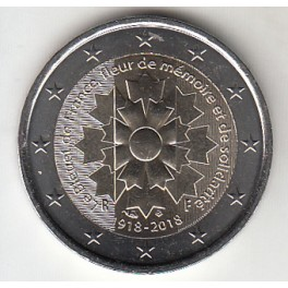"2€ FRANCIA 2018 ""3€"""