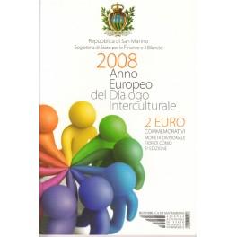 2€ SAN MARINO 2008  (68€)