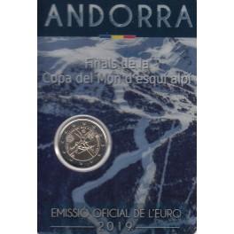 """2€ Andorra 2019 """"Finals de la copa del món désquí alpí"""""""