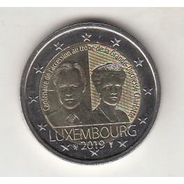 2€ LUXEMBURGO 2019