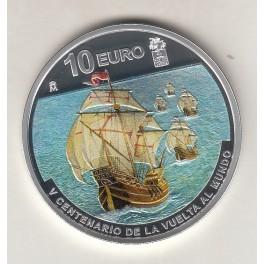 """10€ ESPAÑA 2019 """"V CENTENARIO VUELTA AL MUNDO"""""""