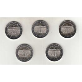 2€ ALEMANIA 2020 (5 cecas)