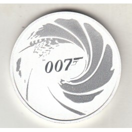1 Oz JAMES BOND 007 TUVALU