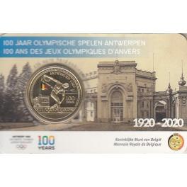 2,5€ BÉLGICA 2020