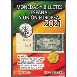 CATÁLOGO MONEDAS Y BILLETES 2021