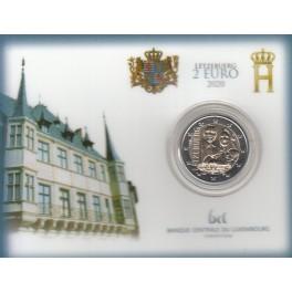 2€ LUXEMBURGO COINCARD 2020